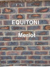 Equitoni MERLOT – 1 carton has 52 brick tiles(1 sqm)