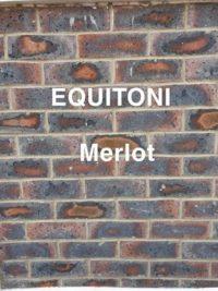Equitoni MERLOT – 1 carton has 52 brick tiles(1 sqm)