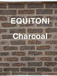 Equitoni CHARCOAL – 1 carton has 52 brick tiles(1 sqm)