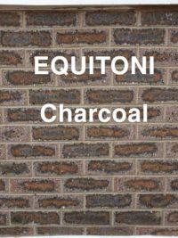 Equitoni CHARCOAL – 1 carton has 52 brick tiles(1 sqm)